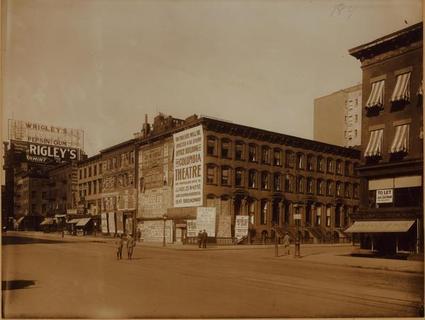 Future site of the Columbia Theatre. May 1909